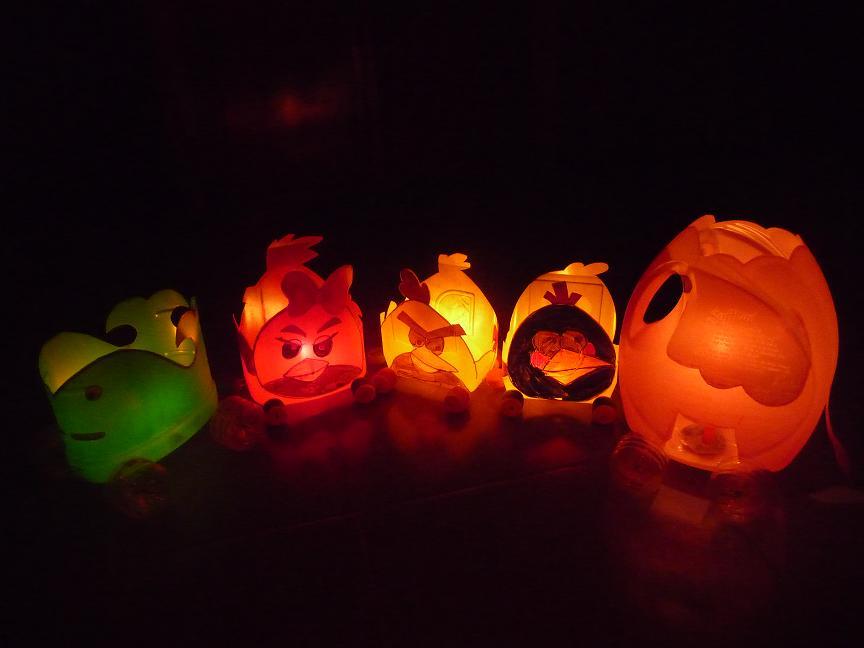 Đèn led làm đèn Trung thu