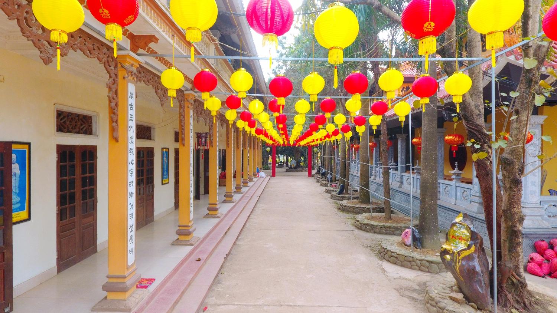 Đèn lồng Trung quốc đủ màu